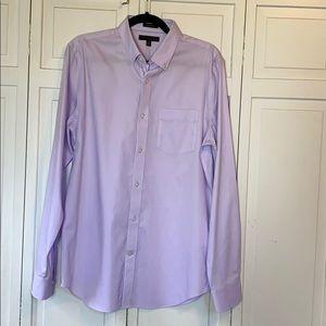 ⭐️3/$15 Banana Republic Slim Fit Lavender Shirt